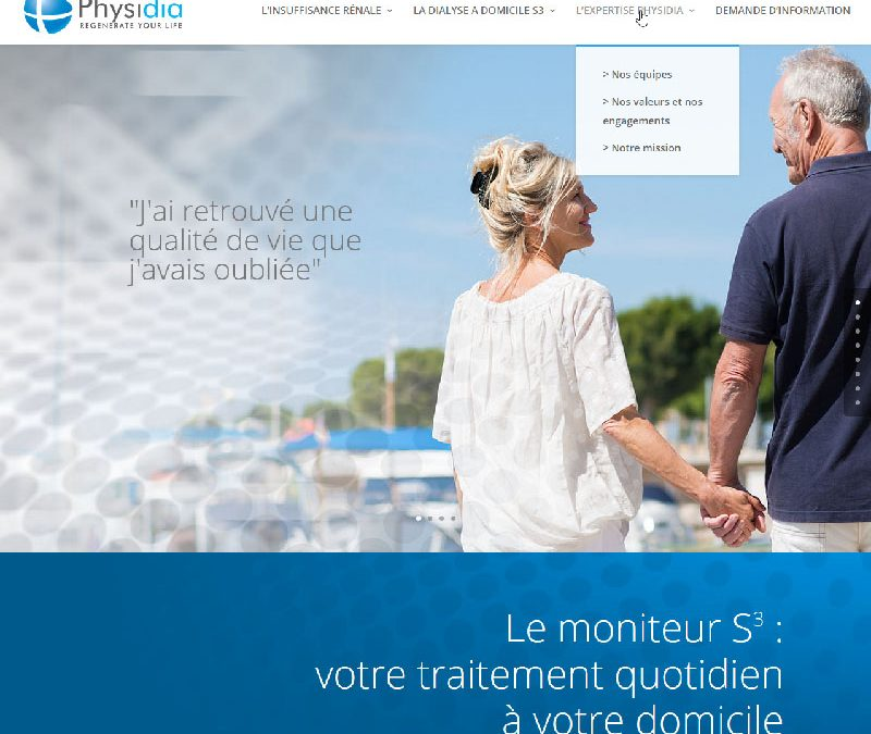 Physidia – Webdesign